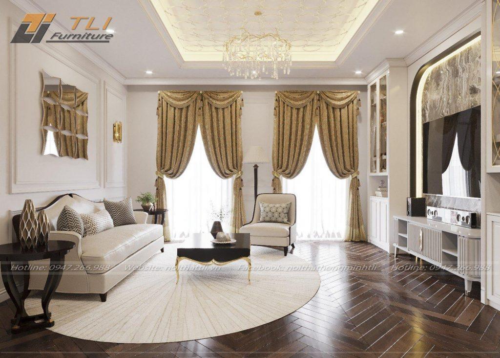Sofa biệt thự chị Thắm, Hà Giang